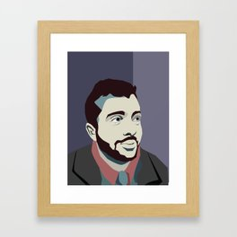 Jimmy poster Framed Art Print