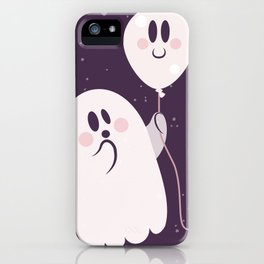 Pink Ghost and Friend iPhone Case