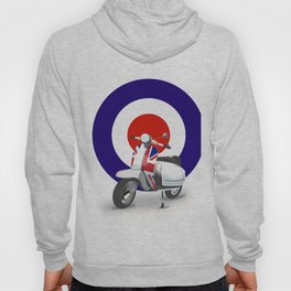 Mod Moped poster Hoody