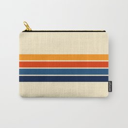 Classic Retro Stripes Carry-All Pouch
