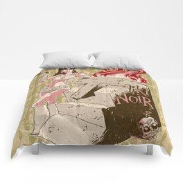 Tiki Noir Comforters