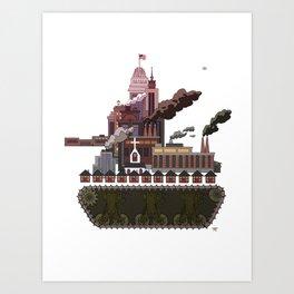Military-Industrial Complex Art Print