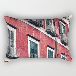 Red Background 03 Rectangular Pillow