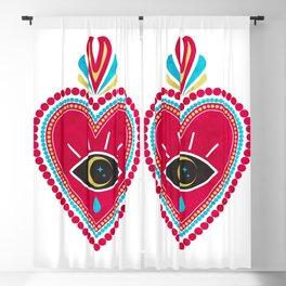 Ex Voto Sacred Heart Blackout Curtain
