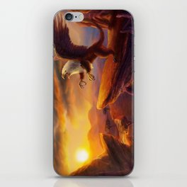 Morning Gryphon iPhone Skin