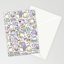 Artsy Cats Stationery Cards