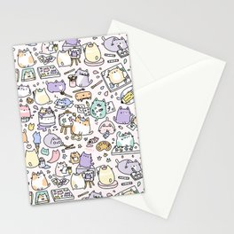 Artsy Cats Stationery Cards