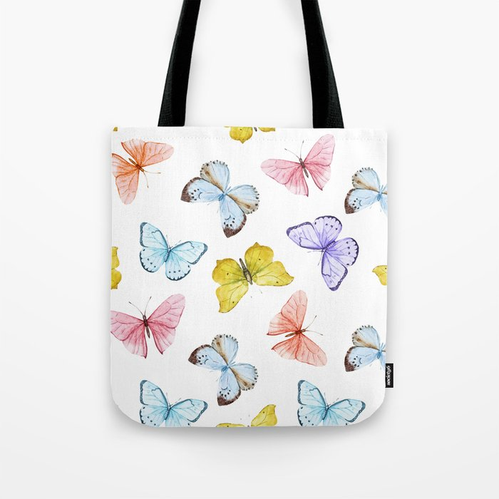 Butterfly Pattern 04 Tote Bag
