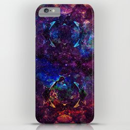 Rainbow Aura Quartz NebulÆ iPhone Case