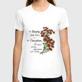 Carnation - Birth Month Flower for January T-shirt