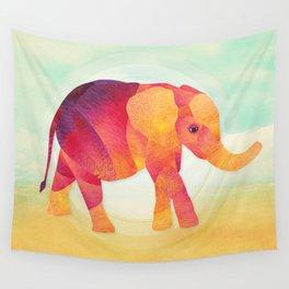 Shanti Sparrow: Martha the Elephant Wall Tapestry