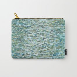Blue Raindrops Juul art Carry-All Pouch