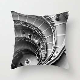 Vatican Stairway Throw Pillow