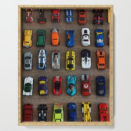 1980's Toy Cars Serving Tray