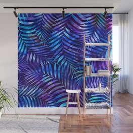 Violet jungle vibes Wall Mural