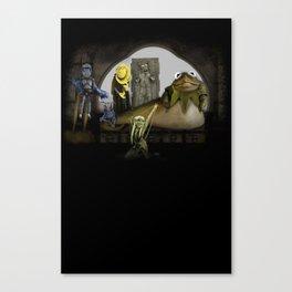Kermit the Hut Canvas Print