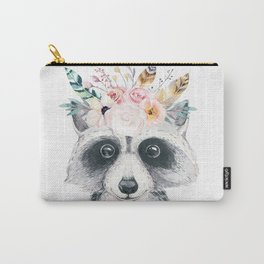 Forest Raccoon by Nature Magick Carry-All Pouch