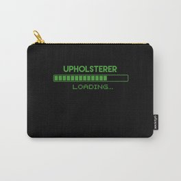 Upholsterer Loading Carry-All Pouch