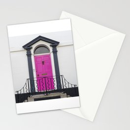 in through the pink door… a splash of colour for the front entrance door Stationery Cards