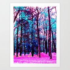Candy Forrest Art Print