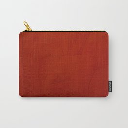 Italian Style Red Stucco Carry-All Pouch