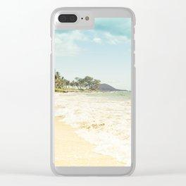 Polo Beach Maui Hawaii Clear iPhone Case