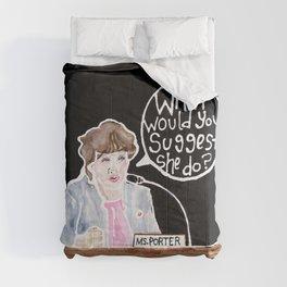 Congresswoman Katie Porter Comforters