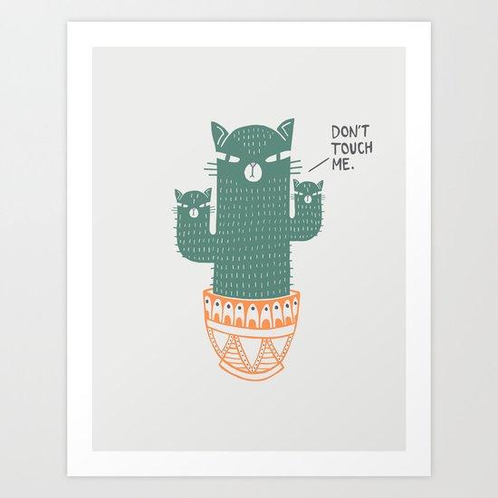 Catcus Art Print