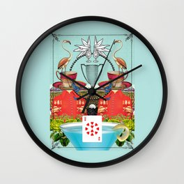 Ten of Cups Wall Clock