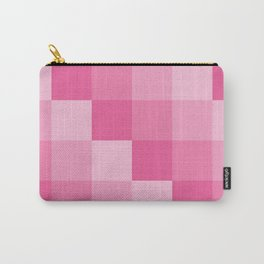 Four Shades of Pink Square Carry-All Pouch
