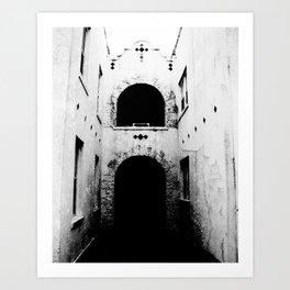 Blind Faith Art Print