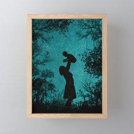 MY MOON Framed Mini Art Print