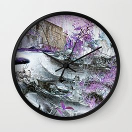 Fungal Ends Wall Clock