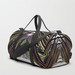 """""""Beez Lee Art : Love Leads Through Triangle Darkness"""" Duffle Bag"""