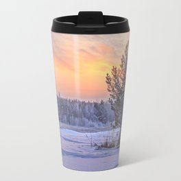 Frosty Evening Travel Mug