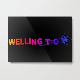 Wellington Metal Print