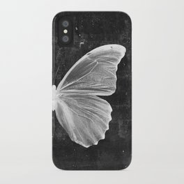 Butterfly in Black iPhone Case