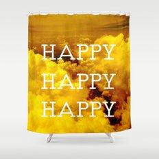Happy Happy Happy II Shower Curtain