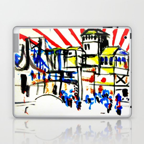 Japan and the  flag  Laptop & iPad Skin