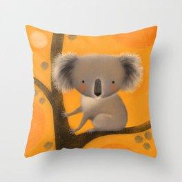 KOALA TREE Throw Pillow