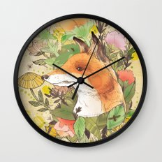 Wilderness Wall Clock