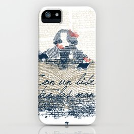 Menina of the books iPhone Case