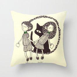 Sibil & Silk Throw Pillow