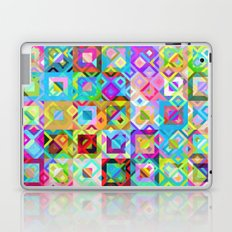 Multicolor Geometric Pattern Laptop & iPad Skin