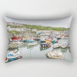 Mevagissey - Habour Rectangular Pillow