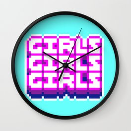 girlies Wall Clock