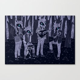 The Band Canvas Print