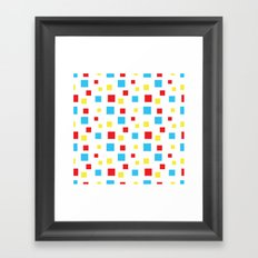 Mid Century Brights Framed Art Print
