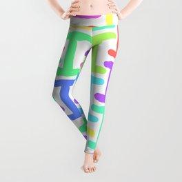 Gorgon dress Athes Multi Coloured Leggings