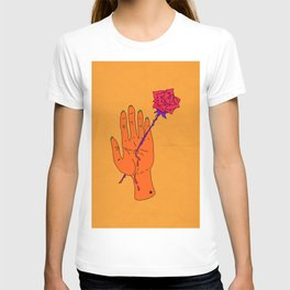 Wounded Hand - Golden yellow T-shirt